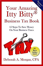 Your Amazing Itty Bitty® Business Tax Book By Deborah A. Morgan
