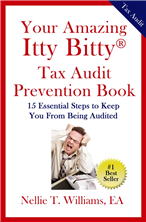 Your Amazing Itty Bitty® Tax Audit Prevention Book By Nellie Williams