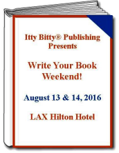 Write Your Book Weekend!